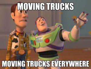 Moving Trucks Everywhere